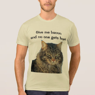 Grumpy Angel wants your bacon Shirt