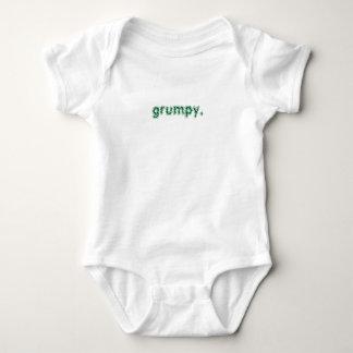 grumpy. baby bodysuit