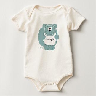 Grumpy Bear by Sorbert Baby Bodysuit