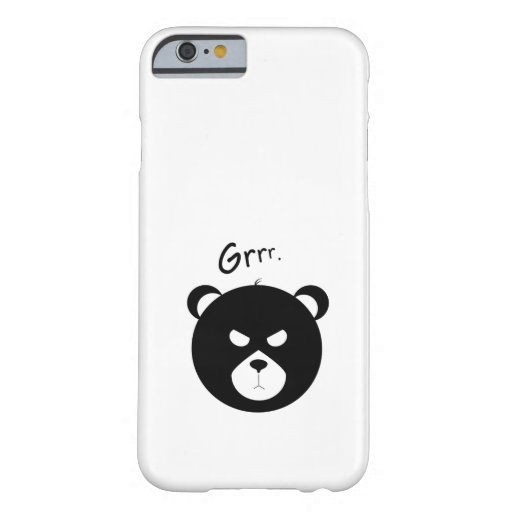 Grumpy Bear iPhone Case