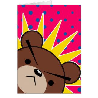 Grumpy Bear Roar Card