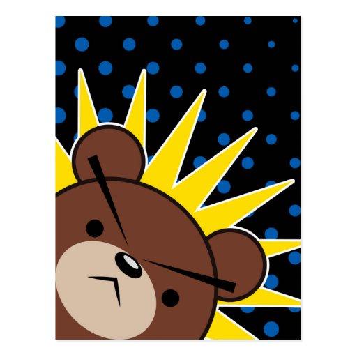 Grumpy Bear Roar Postcards