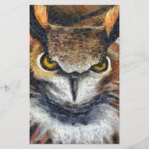 Grumpy Big Ear Owl
