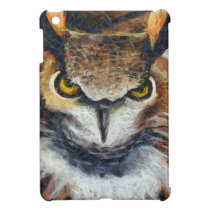 Grumpy Big Ear Owl Case For The iPad Mini