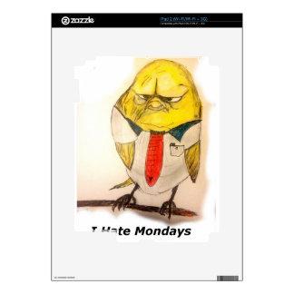 Grumpy bird iPad 2 skin