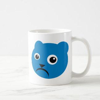 Grumpy Blue Teddy Mug