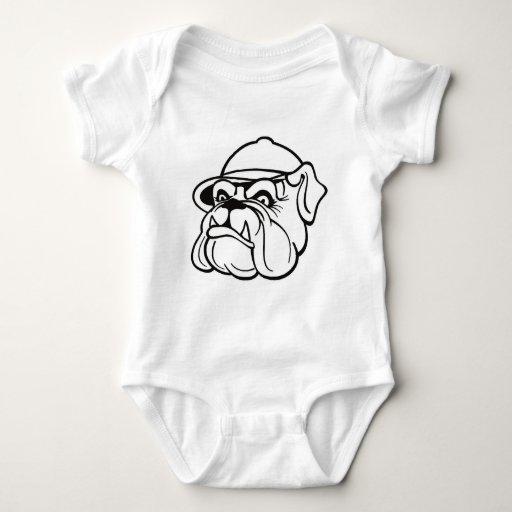 Grumpy Bulldog Baby Bodysuit
