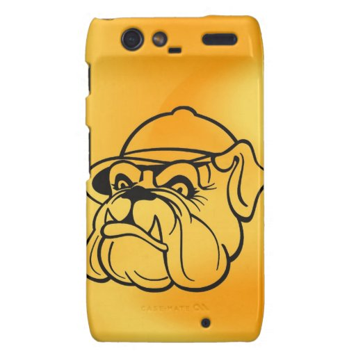 Grumpy Bulldog Droid RAZR Covers