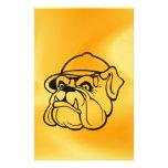 Grumpy Bulldog Personalized Stationery