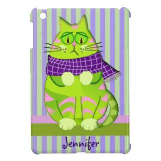 Grumpy cat and Custom Name iPad Mini Cover