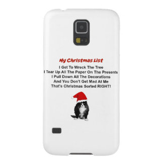 Grumpy Cat Christmas Samsung Galaxy S5 Case