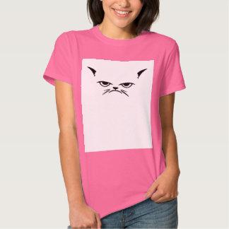 Grumpy cat face funny feline animal pet trend inte t shirt