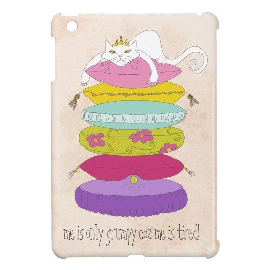 Grumpy Cat funny cartoon iPad mini case