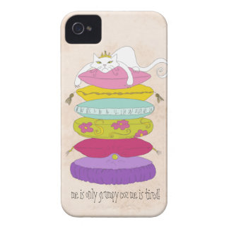 Grumpy Cat funny cartoon iPhone 4 case