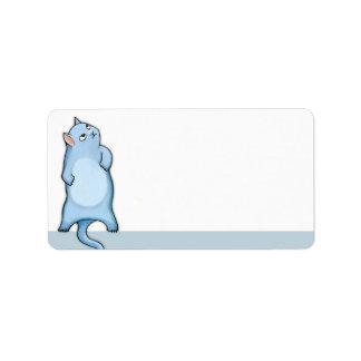 Grumpy Cat George Address Label