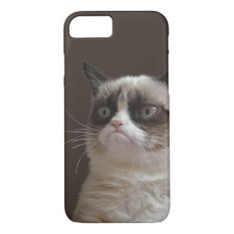 Grumpy Cat Glare iPhone 8/7 Case