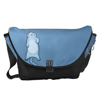 Grumpy Cat Grouchy George Large Messenger Bag