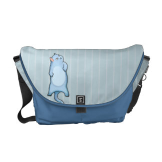 Grumpy Cat Grouchy George Medium Messenger Bag