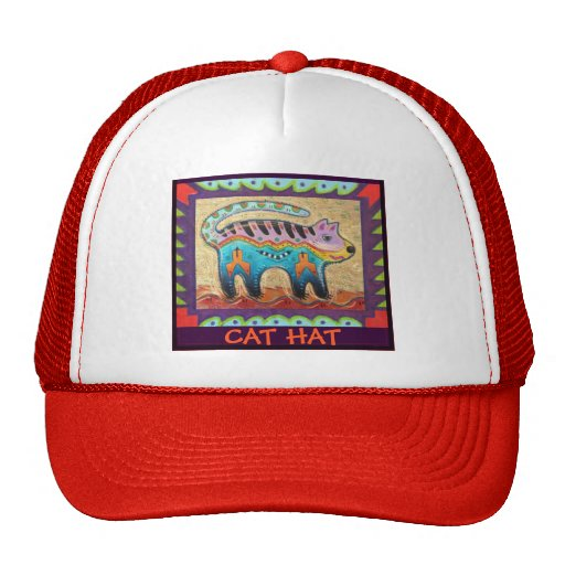 grumpy cat hat trucker hat zazzle. Black Bedroom Furniture Sets. Home Design Ideas