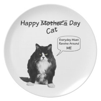 Grumpy Cat Mother's Day Plate