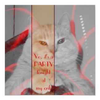 Grumpy Cat Party Invitation