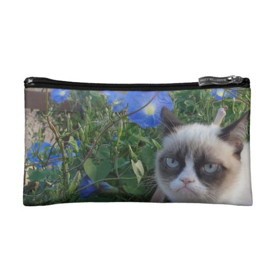 Grumpy Cat Purse (Baguette Bag)