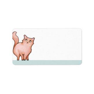 Grumpy Cat Sue Address Label