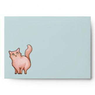 Grumpy Cat Sue hearts A7 Card Envelope
