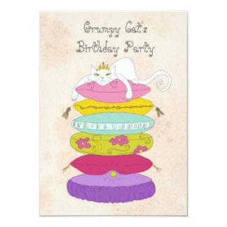 Grumpy cat's birthday party Invites