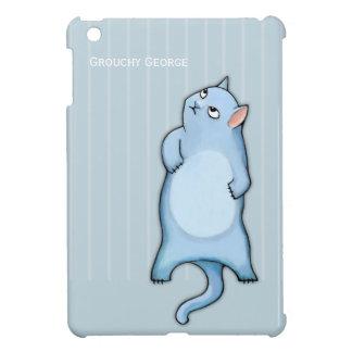 Grumpy Cats George stripes iPad Mini Glossy Case Case For The iPad Mini