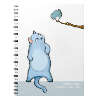 Grumpy Cats Grouchy George Notebook