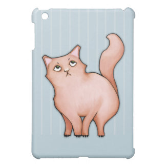 Grumpy Cats Sue stripes iPad Mini Matte Case iPad Mini Cover