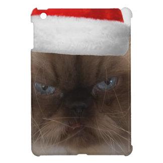 Grumpy Christmas Cat iPad Mini Cases