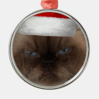 Himalayan cat christmas ornament