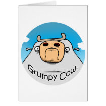 Grumpy Cow Card