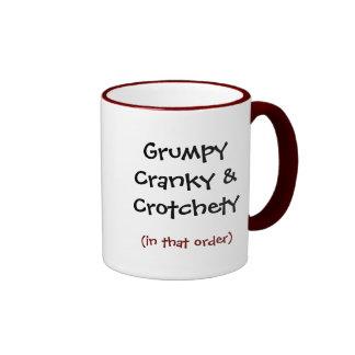 Grumpy Crank & Crotchety (In the order) Mug