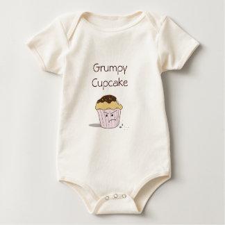 Grumpy cupcake baby rompers