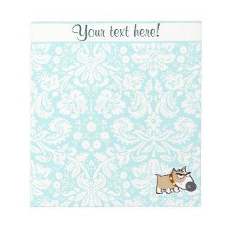 Grumpy Dog, Cute Scratch Pad