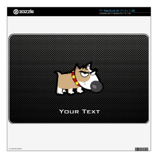 Grumpy Dog on Sleek Decals For MacBook