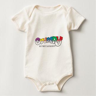 GRUMPY ENTERTAINMENT BABY BODYSUIT