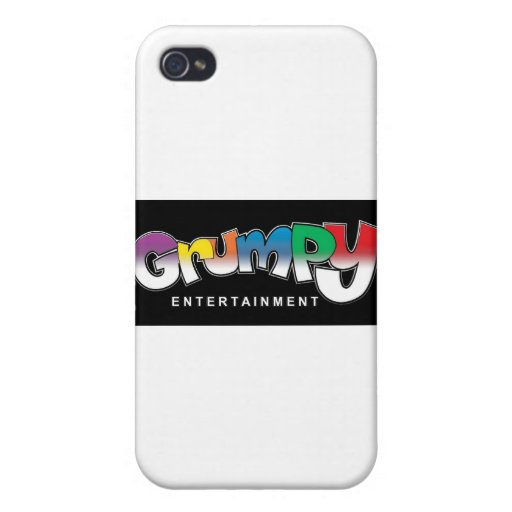 GRUMPY ENTERTAINMENT WEAR iPhone 4 CASE