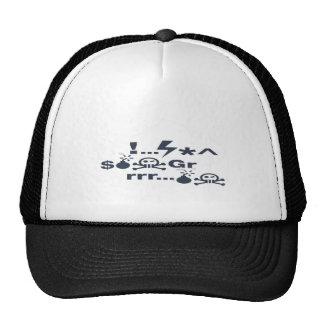 Grumpy Face, Grrrrrrrr products Trucker Hat