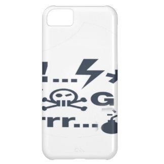 Grumpy Face, Grrrrrrrr products iPhone 5C Cover