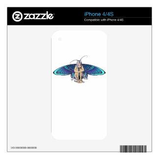 Grumpy fairy iPhone 4S skin