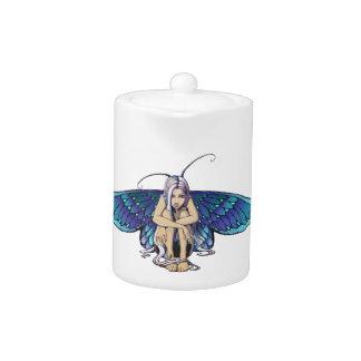 Grumpy fairy teapot