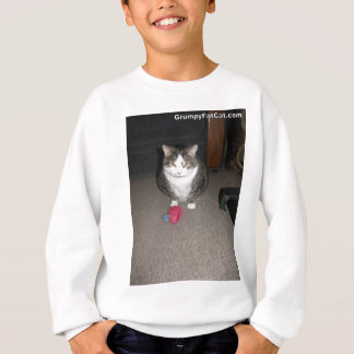 Grumpy Fat Cat is not amused Sweatshirt