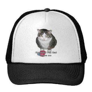 Grumpy Fat Cat says no Trucker Hat