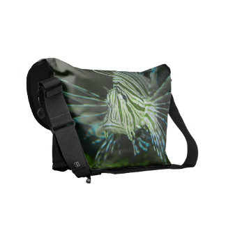 Grumpy Fish Messenger Bag