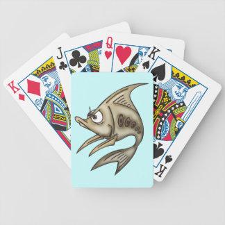 Grumpy Fish Playing Cards