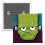 Grumpy Frankenstein | Halloween Novelty Pins